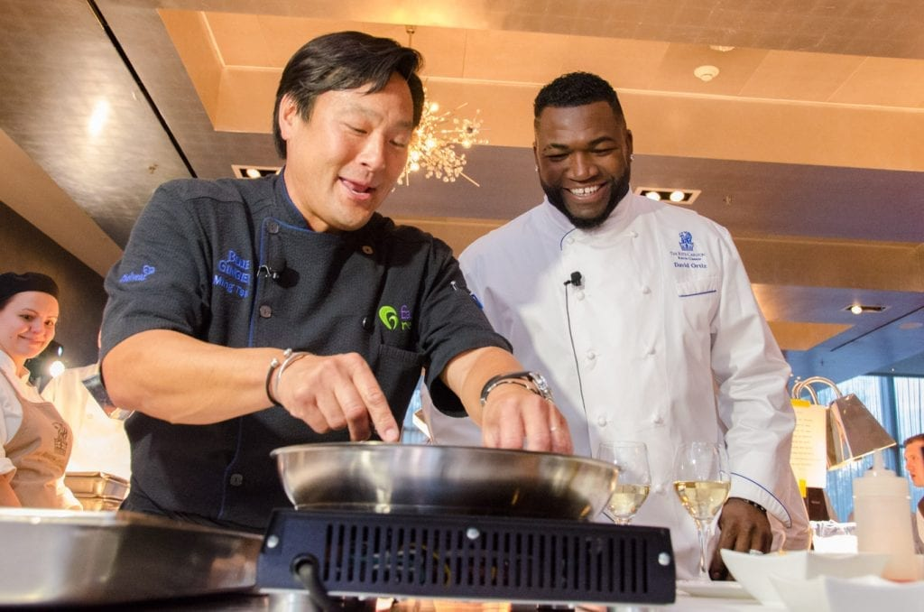 David Ortiz Cooking with Ming Tsai_Family Reach