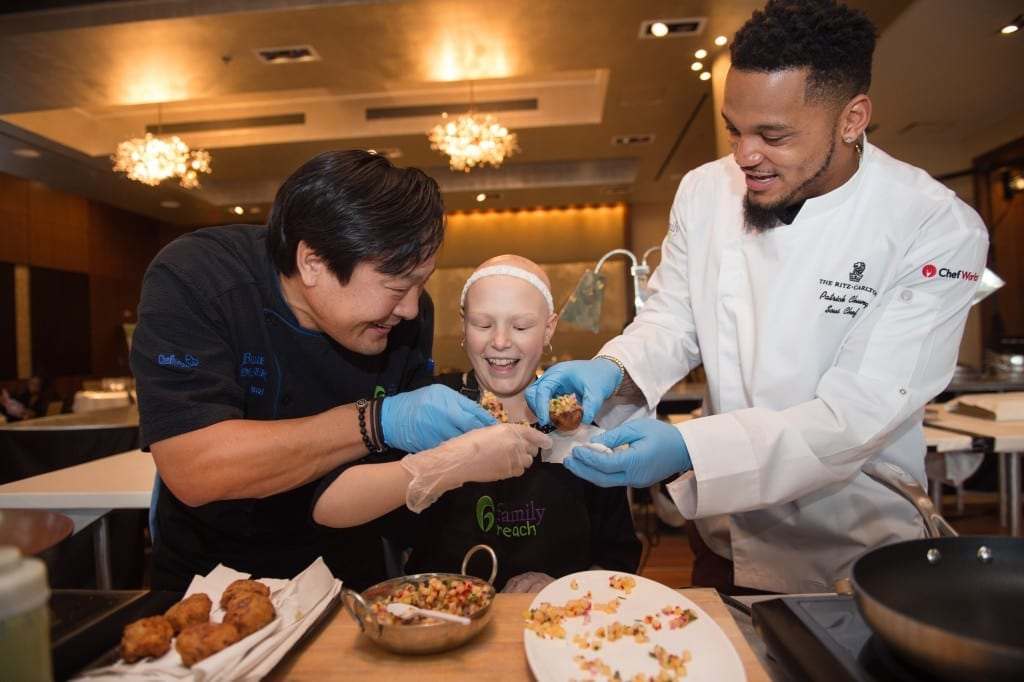 Family Reach Foundation Cooking Live! Boston