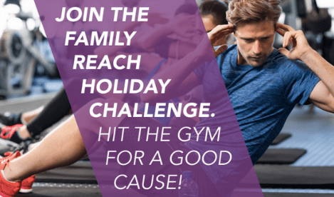 Reach Athlete Holiday Challenge: Hit the Gym for a Good Cause!