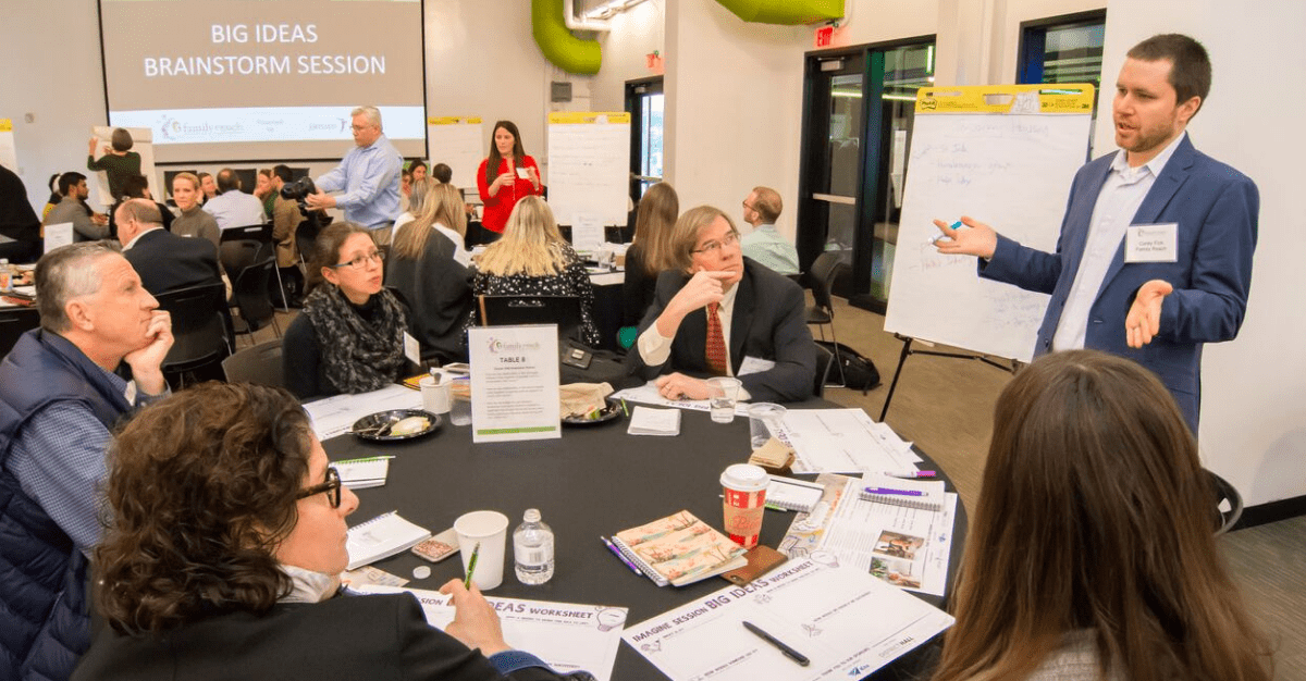 Imagine Session 2018: Brainstorming Housing Solutions for Cancer Patients