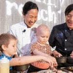 Chefs Joanne Chang and Ming Tsai of Boston