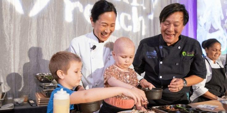 Chefs Joanne Chang and Ming Tsai of Boston