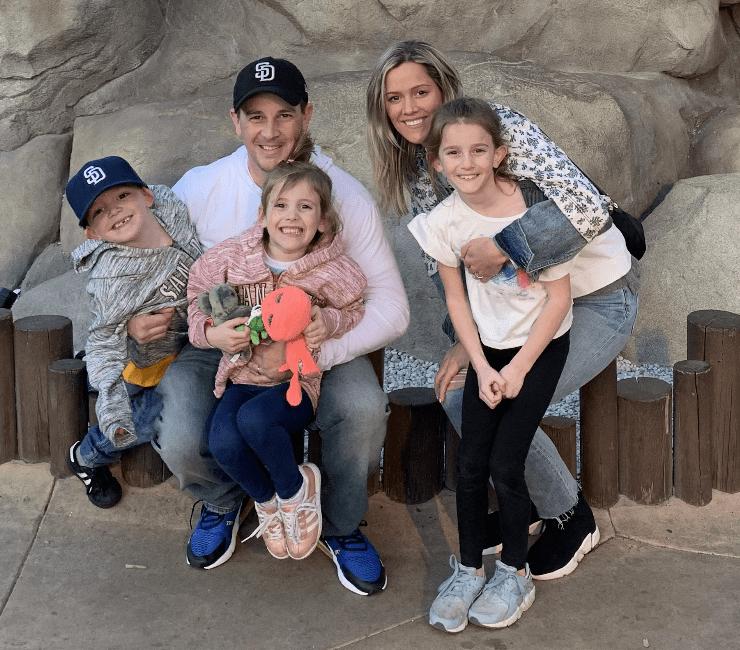 Longo Family at SeaWorld
