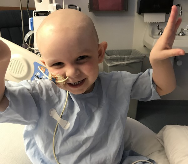 'Little Warrior' Braves Cancer Treatment During COVID-19