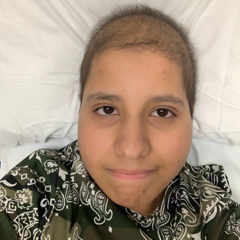 Cancer hero Chadi