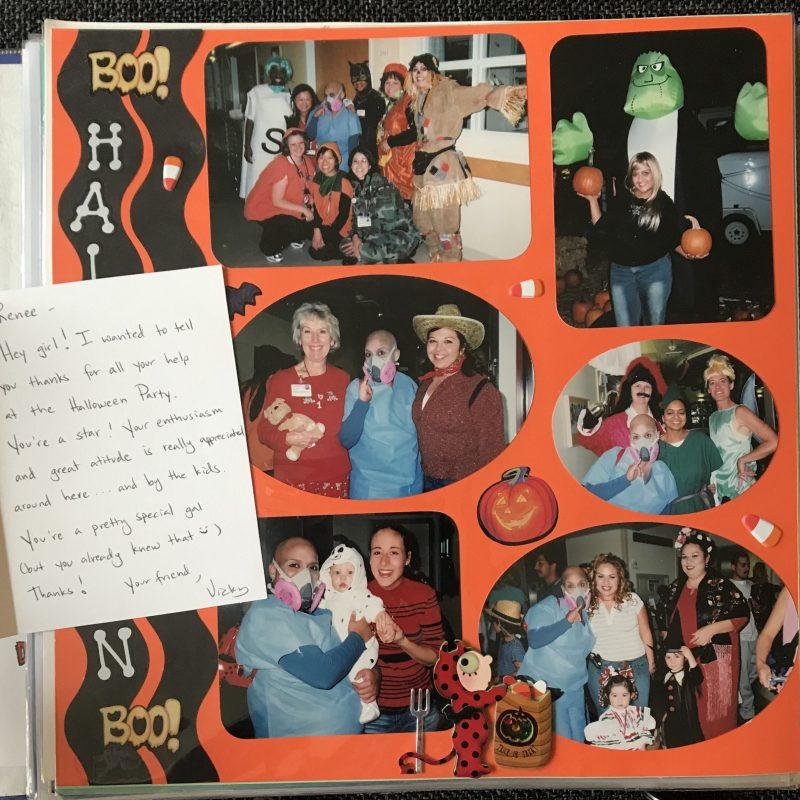 Snapshots from Renée's scrapbook