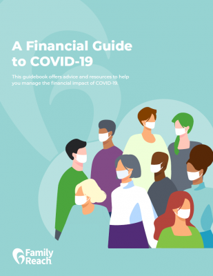 covid guidebook cover display