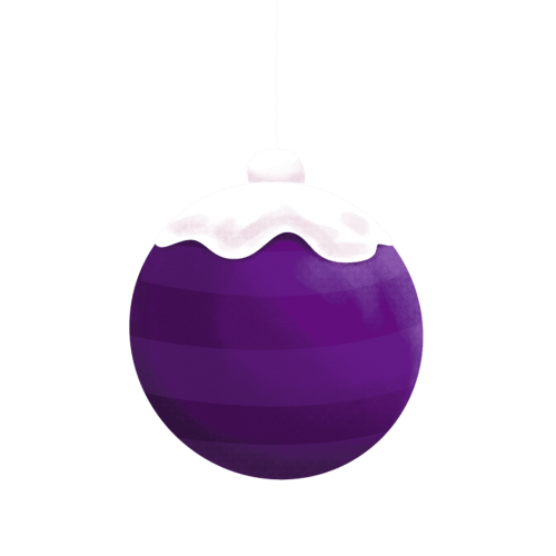 purple-ornament