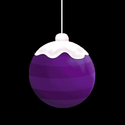 purple-ornament